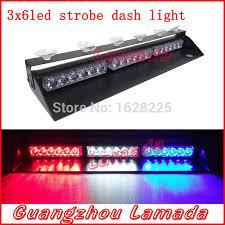 Led Emergency Dash Lights 18 Led Police Strobe Lights18w Vehicle Strobe Light Car Dash Board