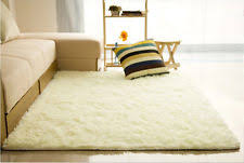 Area Rug For Bedroom Fluffy Rugs Anti Skid Shaggy Area Rug Home Room Bedroom Carpet