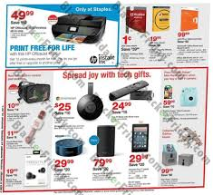 staples black friday 2017 sale deals ad scan sales 2017