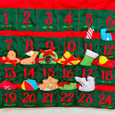 christmas advent calendar christmas tree fabric advent calendar by jolly