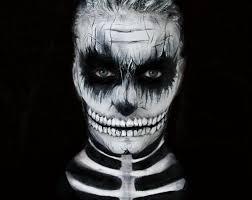 tuto maquillage halloween skull makeup youtube