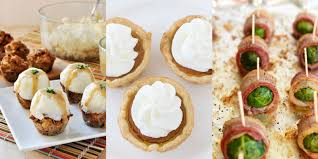 thanksgiving finger foods 15 miniature thanksgiving u0026 christmas dinner ideas small holiday