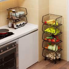 vegetable storage kitchen cabinets kitchen vegetable storage basket floor multi layer vegetable
