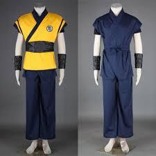 aliexpress com buy dragon ball son goku anime cosplay costumes