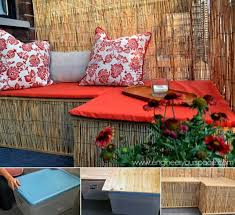 Backyard Seating Ideas by 26 Awesome Outside Seating Ideas You Can Make With Recycled Items