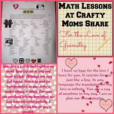 crafty moms share for the love of geometry math lessons at