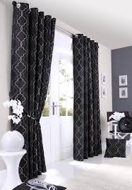 Black And Gray Curtains Black And Silver Curtains 100 Images Livingroom Amazing Modern