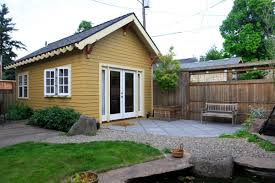 build a small home new build a small guest house backyard with additional home