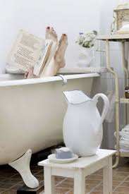 Bathroom In French by Relax On Tub With Book And Coffe In Charming Bathroom Munich House