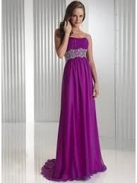 formal maternity dresses empire purple chiffon bridesmaid evening maternity
