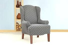 wing chair slipcover wingback chair slipcover view larger wingback chair slipcovers