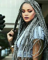 looking for black hair braid styles for grey hair gray braids protective style hair pinterest protective