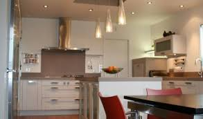 cuisine moderne blanc cuisine aménagée réalisations caen