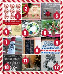 deck your halls 24 christmas crafts decor ideas and free