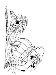 kids fun 37 coloring pages asterix obelix