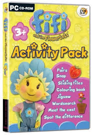 fifi flowertots activity pack amazon uk software