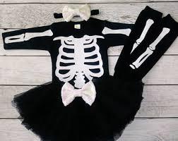 Halloween Skeleton Costume Skeleton Costume Etsy