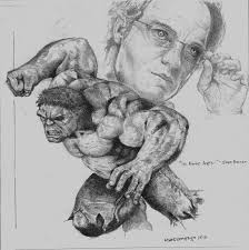 incredible hulk drawing by roland benipayo