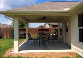 Cost Of Building A Covered Patio Covered Patio Houston A Guide On Houston Patio Covers Covered
