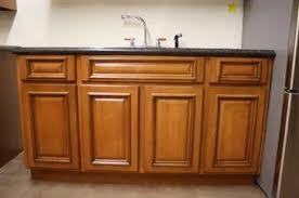 Cherry Glaze Cabinets Tmg Cherry Glazed Maple 60 Sink Base Cabinet Barn