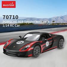 Porsche 918 Body Kit - black rastar 70710 1 14 porsche 918 spyder weissach radio control