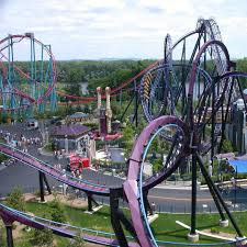 Six Flags Highest Ride Batman At Six Flags New England Been There Done That No Need To