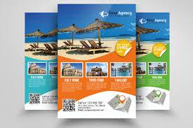 travel for free images Travel agency flyer design gecce tackletarts co jpg