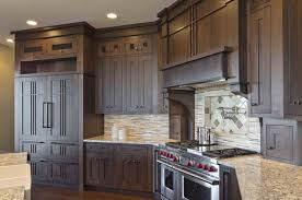 beautiful craftsman kitchen cabinets for house decor concept with