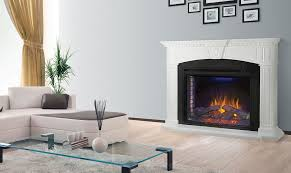 Electric Fireplace With Mantel Napoleon Electric Fireplace With Mantel Package