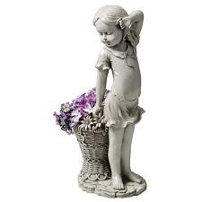 fairy garden statues patiosense male crane garden statue reviews wayfair loversiq