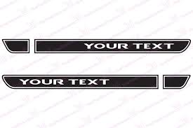 white jeep hood retro hood sticker decals for jeep wrangler tj your custom text
