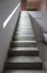 floating concrete stairs and landing stairs we love at design