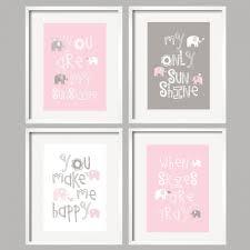 Pink And Grey Nursery Decor Bedroom Nursery Ideas For Pink And Grey Custom Nursery