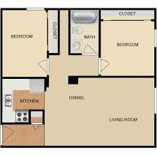 2 bedroom 1 bath floor plans availability floor plans pricing