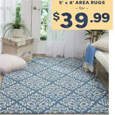 5 X 8 Area Rug Up To 71 5 X 8 Area Rugs Only 39 99 Mybargainbuddy