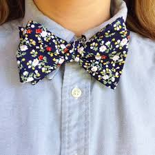 floral bowtie national bow tie day the dress decoded