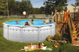 Pool Landscaping Ideas by Above Ground Pool Landscaping Ideas On Budget Unizwa Newest How To