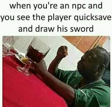 Beetlejuice Meme - the downside of being an npc gaming know your meme