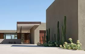 desert landscape design exterior modern with bridge cactus