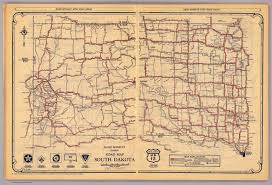 Map Of Sd South Dakota David Rumsey Historical Map Collection