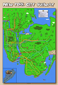New York Submay Map by Super Mario New York City Subway Map Updated Again Some