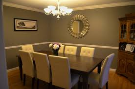 dining room color schemes with chair rail u2013 thelakehouseva com