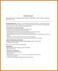 resume examples position active employe involving qualifications