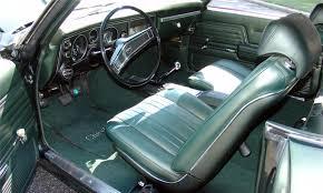1969 Chevelle Interior 1969 Chevrolet Chevelle Copo 2 Door Hardtop 15806