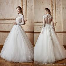 luxury wedding dresses discount high neck luxury wedding dress sleeves delicate garden