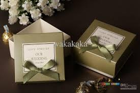 wedding favor boxes wholesale wedding favor boxes handmadediy box candy box shipping