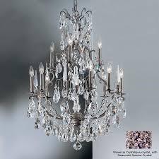 Bronze Chandelier Shop Classic Lighting Versailles 13 Light Antique Bronze Crystal