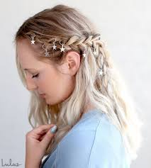 hair rings images images Trendy boho braid tutorial using hair rings jpg