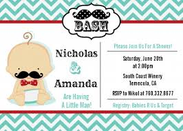 baby shower mustache mustache baby shower invitations candles and favors