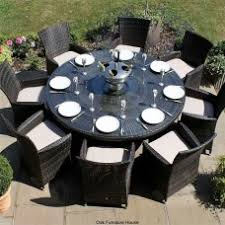 8 Seater Patio Table And Chairs Buy Rattan 8 Seater Dining Sets From Oak Furniture House